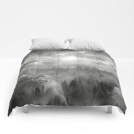 B&W - Wish You Were Here (Chapter I) Comforters