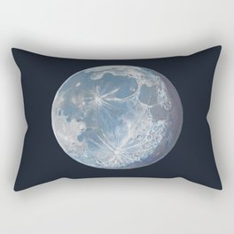 Moon Portrait 6 Rectangular Pillow