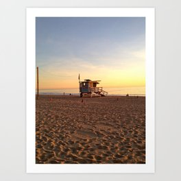 Beach Place Art Print