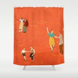 Sing, sing, sing! Shower Curtain