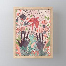 Spring Bird Framed Mini Art Print