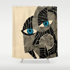- pastapoleka - Shower Curtain