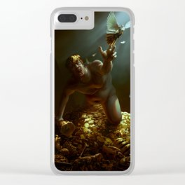 The Hunger of Midas Clear iPhone Case