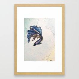 .beta ii Framed Art Print