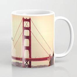 """Explore. Dream. Discover."" - Travel Quote - Golden Gate Bridge Coffee Mug"