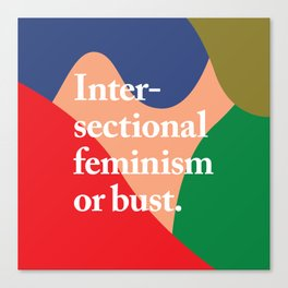 Intersectional Canvas Print
