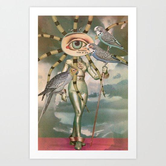 BIRD WATCHERS Art Print