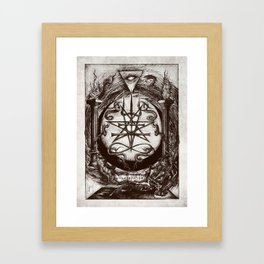 The Dreaming Abyss  Framed Art Print