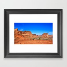 Monument, Utah Framed Art Print