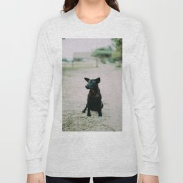 Dog by Pesce Huang Long Sleeve T-shirt