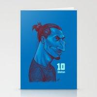 zlatan Stationery Cards featuring Zlatan 10 by SketcherOnline