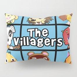 the villagers animal crossing bradys inspired Pillow Sham