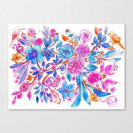 Limited Palette Canvas Print