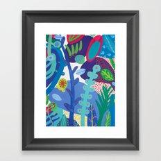 Secret garden IV Framed Art Print