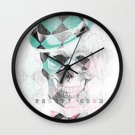 LDN Skull Wall Clock
