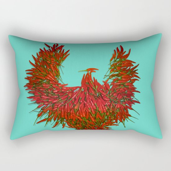 Hot Wings! Rectangular Pillow