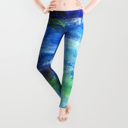 Blue Lagoon Leggings