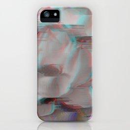 Lotus Glitch iPhone Case