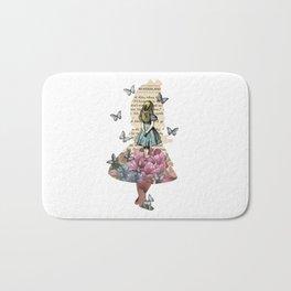Alice In Wonderland Magical Garden - Vintage Book Bath Mat