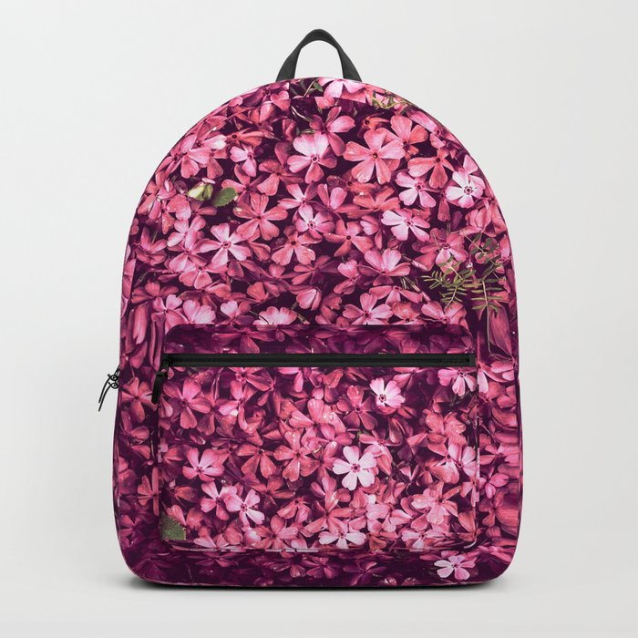 Pretty Pink Flowers Backpack