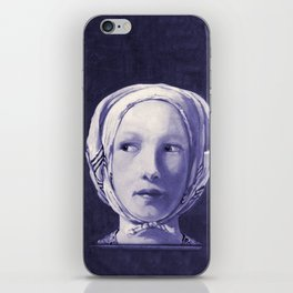 The Thief in Indigo iPhone Skin
