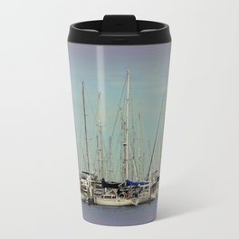 Flotilla of Yachts  Travel Mug