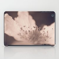 peach iPad Cases featuring Peach by holleyphotography