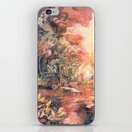 Sunset Forest iPhone Skin