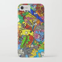 planes iPhone & iPod Cases featuring Planes by Dr. Freakinstyle