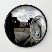 truck Wall Clocks featuring Truck by Susy Margarita Gomez
