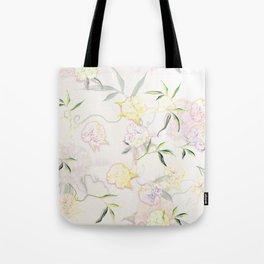 Pastel Hydrangea Tote Bag
