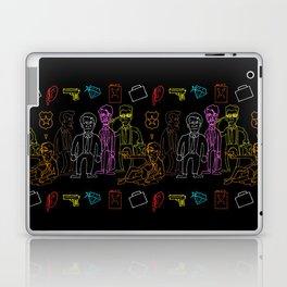 Res Dogs Rainbow Pattern Laptop & iPad Skin