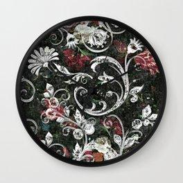Baroque Bling Wall Clock