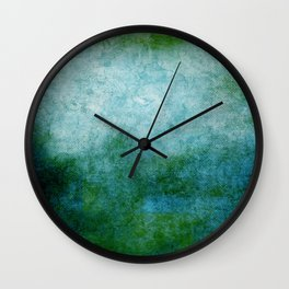 Abstract Cave IV Wall Clock
