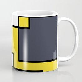 Mondrian Style Coffee Mug