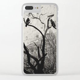 Thought & Memory Clear iPhone Case