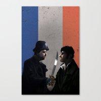 les miserables Canvas Prints featuring Les Miserables by Tori Poole