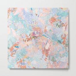 Abstract Tropicals II. Metal Print