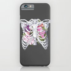 Floral Ribcage iPhone 6 Slim Case