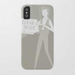 Subterranean Homesick Blues iPhone Case