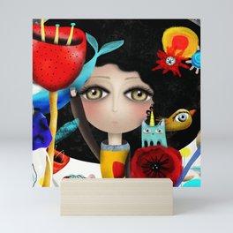 Find something new everyday Mini Art Print