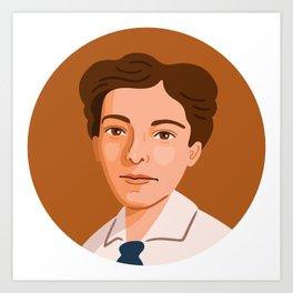 Queer Portrait - Pauline Newman Art Print