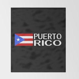 Puerto Rico: Puerto Rican Flag & Puerto Rico Throw Blanket