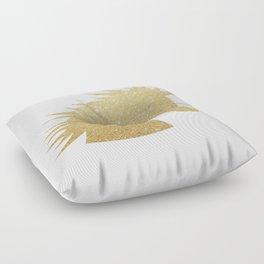 Gold Glitter Unicorn Floor Pillow