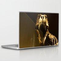 t rex Laptop & iPad Skins featuring T-Rex by Vito Fabrizio Brugnola