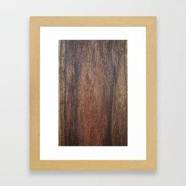 Walnut Framed Art Print