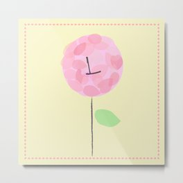 Flower L Metal Print