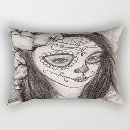 la catrina Rectangular Pillow