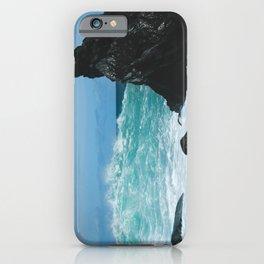 Keanae Maui Hawaii Pacific Ocean Coastal Waves iPhone Case
