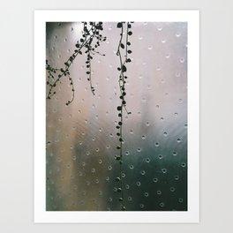 string of pearls Art Print